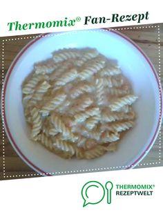 Zucchini-Paprika-Sahne-Nudeln von doppelbubenmama. Ein Thermomix ® Rezept aus der Kategorie Hauptgerichte mit Gemüse auf www.rezeptwelt.de, der Thermomix ® Community.