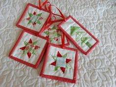 15 Things to Make for Christmas   A Quilting Life - a quilt blog