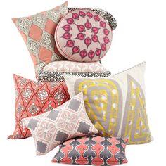 Pillows by John Robshaw!