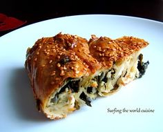 Surfing the world cuisine: Lithuanian Spinach pie/borek - Špinatų pyragas/borekas http://www.surfingtheworldcuisine.com/2010/11/spinach-pieborek-spynatu-pyragasborekas.html
