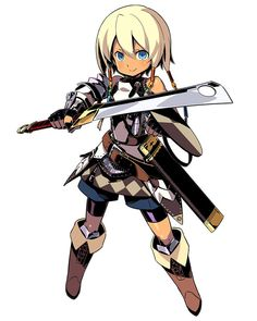 Landsknecht Male from Etrian Odyssey IV: Legends of the Titan