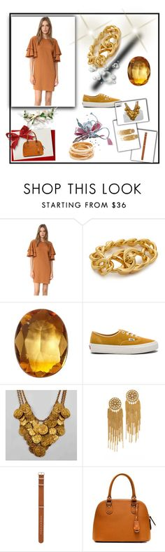 """Go......"" by cate-jennifer ❤ liked on Polyvore featuring TIBI, Loquet, Vans, Erickson Beamon and Kenneth Jay Lane"
