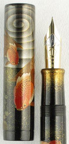 Namiki Emperor Kingkyo Goldfish Fountain Pen