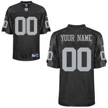 Team Color Customized Premier NFL Oakland Raiders Jersey  $60