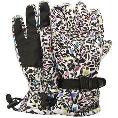 Cool kids ski gloves