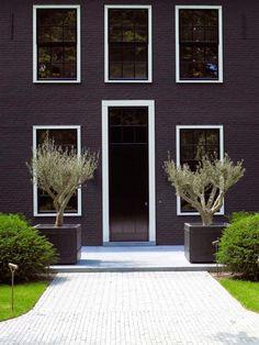 black, architecture, exteriors, design, style
