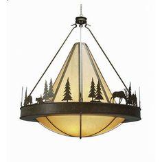 2nd Ave Design Verado 8 Light Inverted Pendant Finish: French Bronze