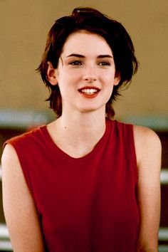 <3 Winona Ryder's hair & clothes in Reality Bites (but unfortunately don't look like Winona Ryder to pull it off!)