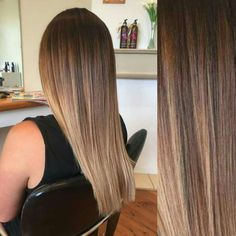 balayage highlights, color melt, baby lights