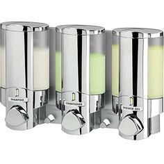 Better Living Products AVIVA Three Chamber Dispenser, Chrome Aviva http://www.amazon.com/dp/B000FGI254/ref=cm_sw_r_pi_dp_qH00vb1HHWKA7