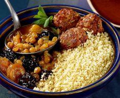Couscous fassi aux fruits secs et boulettes de viande TIPIAK