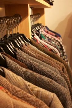 Tweed blazers all day, errday