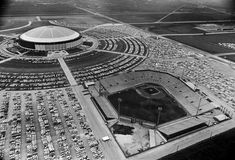 The Astrodome with Colt Stadium in the foreground. CHRONColtStadium5.jpg