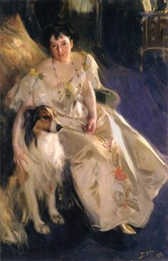 Anders Zorn (Swedish, 1860–1920), mrs. walter rathbone( virginia purdy) on ArtStack #anders-zorn-swedish-1860-nil-1920 #art