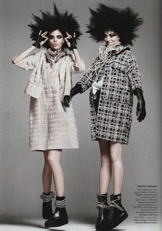 Grace Coddington for Vogue