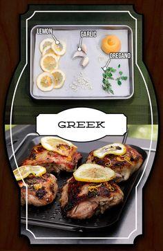Spiced Chicken - Greek