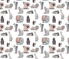 Circus fabric by victoriagolden on Spoonflower - custom fabric