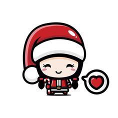 Cute Easy Drawings, Harry Potter Drawings, Cute Paintings, Vector Freepik, Christmas Illustration, Cute Cartoon, Painted Rocks, Cute Art, Happy Holidays