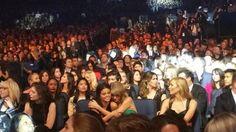 Taylor Swift & Selena Gomez at the 2015 AMAs