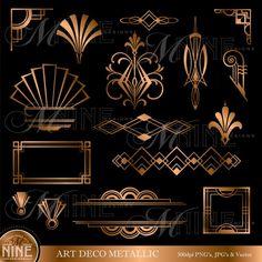 62 ideas for art deco design elements texture Art Deco Borders, Motif Art Deco, Art Deco Pattern, Art Deco Design, Design Design, Design Hotel, Design Patterns, Art Deco Tattoo, Diy Tattoo