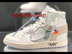 f7d7471ff68 Nike Air Jordan 1 Off White White First Review