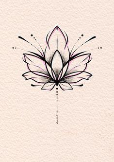 Эскиз тату лотос #tattooideas #tattoosforwomen Lotus Tattoo Design, Flower Tattoo Designs, Flower Tattoos, Mini Tattoos, Cute Tattoos, Body Art Tattoos, Simple Lotus Flower Tattoo, Simple Mandala Tattoo, Lotus Flower Art