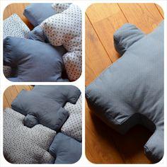 Puzzle pillow www.fabryQ.pl