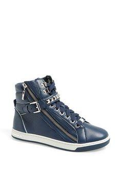 Trendy Womens Sneakers : MICHAEL Michael Kors 'Glam' Studded High Top Sneaker