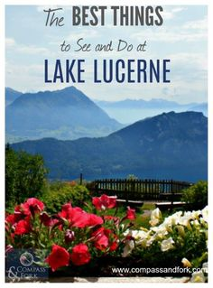 The Best Things to See and Do at Lake Lucerne, Switzerland  www.compassandfork.com