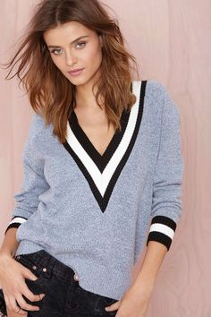 Boys Club Sweater - Heather Blue | Shop Sweaters at Nasty Gal