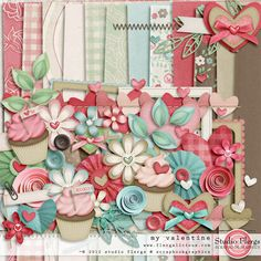 """Photo from album """"My Valentine"""" on Yandex. Printable Scrapbook Paper, Printable Paper, Scrapbook Pages, Png Pack, Scrapbook Borders, Print And Cut, Be My Valentine, Yandex Disk, Digital Scrapbooking"""