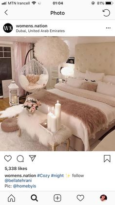 40 Cozy Home Decorating Ideas for Girls' Bedrooms. 40 Cozy Home Decorating Ideas for Girls' Bedrooms Cozy Home Decorating, Decorating Ideas, Decorating Websites, Bedroom Decor For Teen Girls, Ideas For Small Bedrooms, Bedroom Ideas For Small Rooms Women, Teen Room Decor, Teenage Room, Small Teen Bedrooms