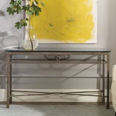 Hammary Hudson Rectangular Console table - Console Tables at Hayneedle