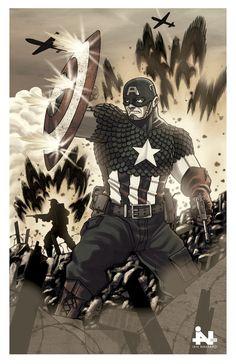 Captain America - Ian Navarro