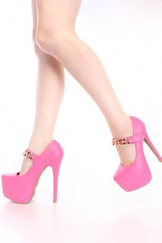 33219aee16b699 22 Delightful Neon High Heels images