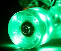 LED Skateboard Wheels