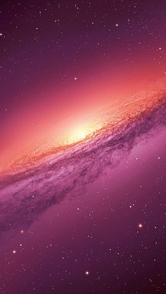 Andromeda Galaxy In Purple #wallpaper #iphone5 #android
