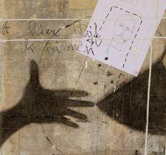 """""""Grundlage der Moral""""   ( gem. techn. , paneel, 52 x 55 cm)."""