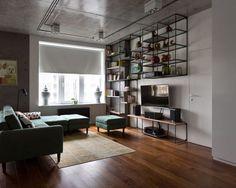 Een kijkje in een stoer appartement met industrieel design - Roomed