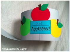 Johnny Appleseed hat for our little ones to wear