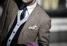 jacket and cardigan