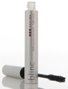 Blinc mascara. Finally a mascara that cannot run, smudge, clump or flake, even if you cry or rub your eyes! Since making the switch I'll never use another mascara again!