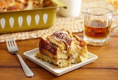Is it breakfast or dessert? I don't care I'll eat it anytime. French Toast Bread Pudding Recipe