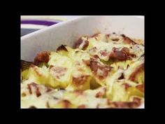 Loaded Leek & Potato Bake (Syn Free on Slimming World) – Basement Bakehouse Healthy Snacks, Healthy Eating, Healthy Recipes, Veggie Recipes, Cooking Recipes, Baked Vegetables, Veggies, Slimming World Recipes Syn Free, Potato Dishes