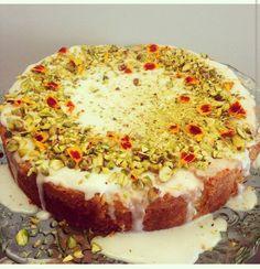 #glutenfree #lemon#pistachio #polenta#cornmeal #cake#glutenfreebaking@thelintonkitchen by global_insta_food_travel