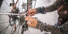 Learn how to do a pre-ride inspection and learn the basics of bike maintenance. Includes tips for how to clean and maintain your drivetrain, including your front chain rings, rear cassette, rear derailleur and chain. Dishwasher Soap, Staring At You, Bicycle Maintenance, Bike Chain, Flat Tire, Bike Parts, Cycling Bikes, Cool Tools, Custom Bikes
