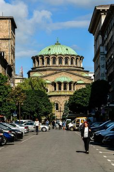 Saborna st., Sofia, Bulgaria