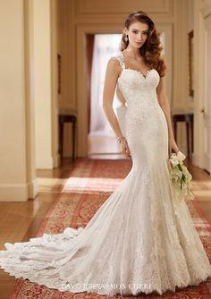Featured Wedding Dress:David Tutera; Wedding dress idea.