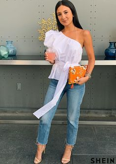 Dress Outfits, Cute Outfits, Fashion Outfits, Casual Summer Outfits, Spring Outfits, Casual Dresses Plus Size, Fancy Tops, Mode Chic, Pinterest Fashion