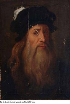 Lucanian portrait of Leonardo da Vinci